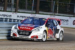 World Rallycross Résumé de course Kristoffersson et Loeb en pole pour les demi-finales