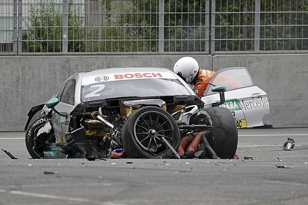 دي تي أم دي تي أم: بافيت يعترف بأنه محظوظ لعدم تعرضه لإصابة خطيرة في سباق نوريسرينغ