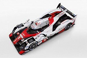 WEC Новость Toyota представила прототип LMP1 для нового сезона