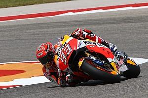 MotoGP Jelentés a versenyről MotoGP: Marquez legyőzhetetlen Austinban! Rossi és Pedrosa a dobogón, a Doktor a bajnokság élén!