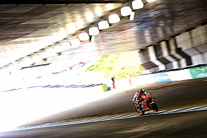MotoGP Practice report Motegi MotoGP: Marquez fastest as Lorenzo crashes hard