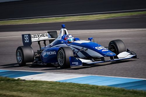 Оруджев стал четвертым на дебютных тестах Indy Lights