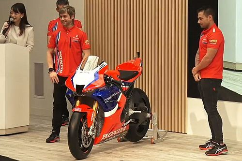 Honda reveals 2020 World Superbike challenger