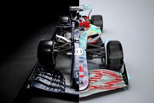 Cara a cara: los F1 2021 vs los F1 2022