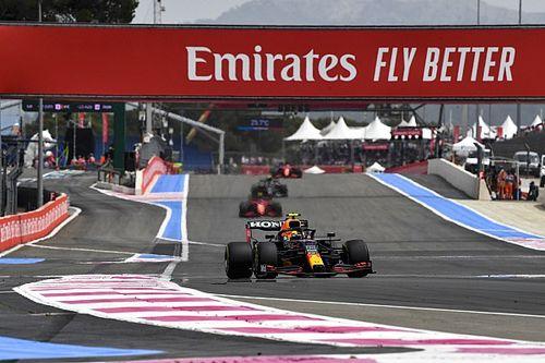 Por qué Pérez mantuvo el podio a pesar de exceder los límites de pista
