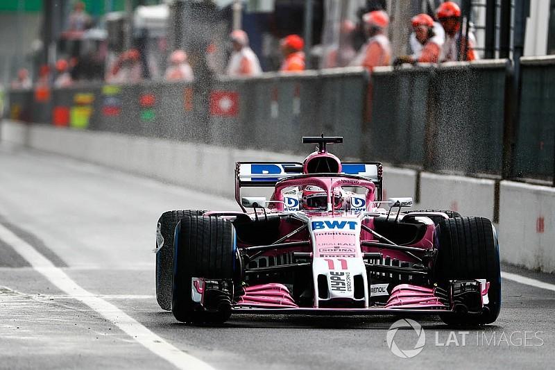 Гран Прі Італії: Перес очолив протокол дощової першої практики