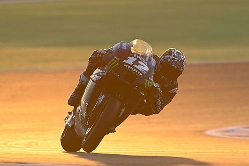 """Vinales """"surprised"""" by Qatar test long-run pace on old Yamaha"""