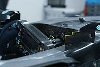Serrated mirror mounts could be Mercedes' latest F1 marginal gain