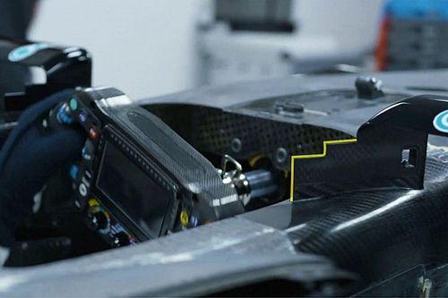 Análise técnica: espelhos serrilhados podem ser o novo pequeno ganho da Mercedes na F1