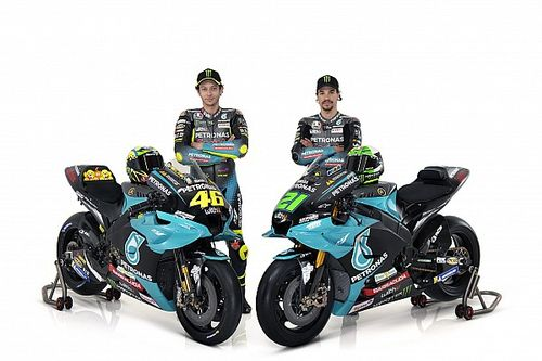Petronas SRT unveils 2021 MotoGP livery with Rossi and Morbidelli