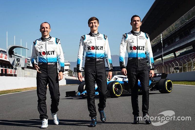 Williams lewatkan hari pertama tes Barcelona