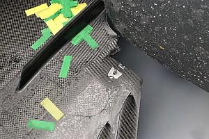 Mercedes: il danno al fondo causato da un cordolo ha reso difficile il GP di Hamilton