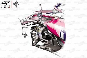 Racing Point: pur avendo la meccanica Mercedes, copia l'aerodinamica Ferrari