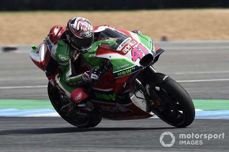 Espargaró se satisfait de sa 13e place après