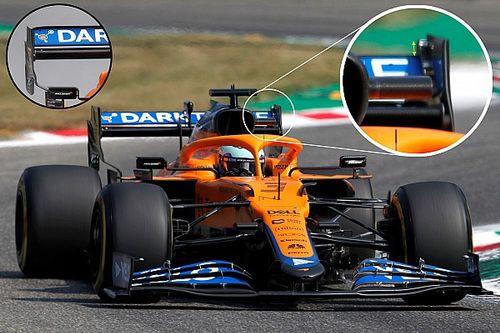 La elección de puesta a punto que ayudó a McLaren a ganar en Monza