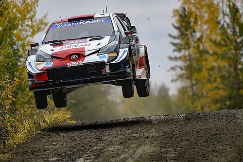 WRCフィンランド:トヨタのエバンス今季2勝目。タイトル争いはオジェとの一騎打ちに。勝田最終パワーステージ4位で2ポイント獲得