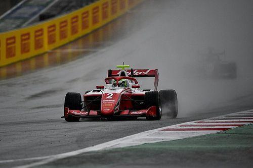 F3シュピールベルク2:レース1は天候悪化により途中終了。ベスティが初優勝飾る