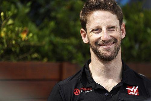Romain Grosjean va utiliser le casque dessiné par ses enfants