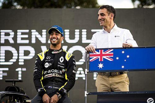 Ricciardo, Abiteboul'ün neden hâlâ dövme yaptırmadığını açıkladı