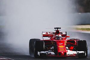 Formule 1 Résumé d'essais Barcelone, J4 - Räikkönen finit en tête d'une journée pluie peu représentative
