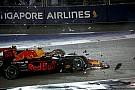 Verstappen Vettelt hibáztatja, és örül, hogy mindhárman kiestek