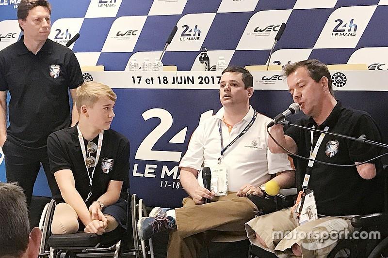 Billy Monger racet in november en heeft Le Mans 2020 als doel