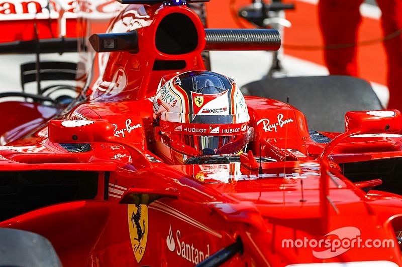 Leclerc manejó el Ferrari 2018 en Monza