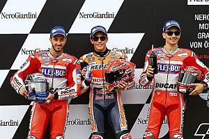 MotoGP Résultats La grille de départ du GP d'Autriche MotoGP