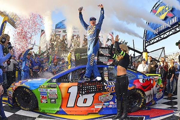 NASCAR Cup Kyle Busch aparece al final e impide la primera victoria de Elliott