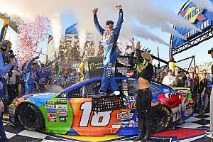 NASCAR Cup Отчет о гонке Кайл Буш выиграл вторую гонку NASCAR подряд