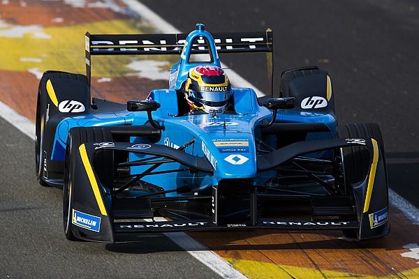 """La Renault e.dams ha rafforzato il """"test team"""""""