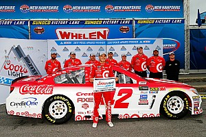 NASCAR Cup Reporte de calificación Larson logró en New Hampshire su cuarta pole en la temporada