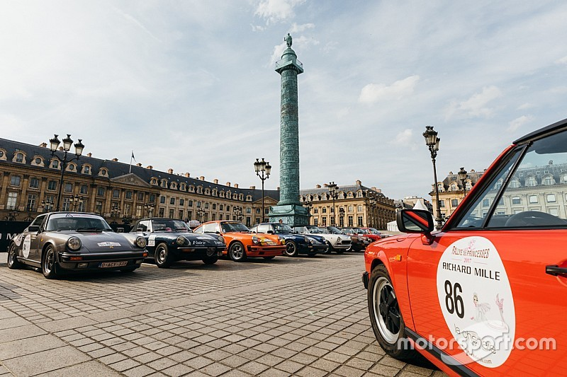 Porsche crew claims last-gasp win on Rallye des Princesses