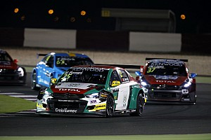 WTCC Race report Qatar WTCC: Bennani leads Bjork in season finale