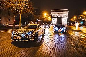 Auto Actualités La future Alpine se promène dans Paris