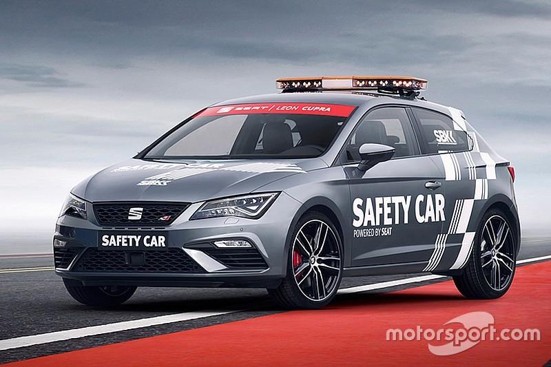 El SEAT Leon CUPRA, nuevo 'safety car' del WorldSBK