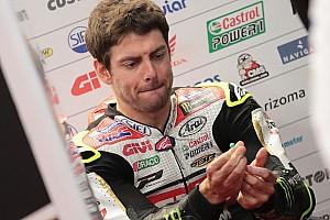 MotoGP Nieuws Crutchlow kwaad dat hij in de regen