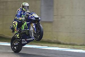 MotoGP Prove libere Motegi, Libere 3: Valentino risale quinto, Vinales resta fuori dalla Q2