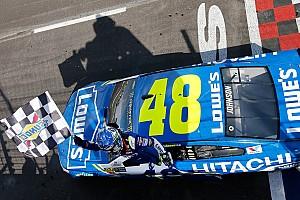 NASCAR Cup Отчет о гонке Джонсон завоевал 81-ю победу в NASCAR