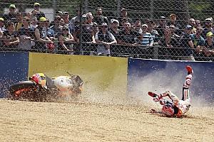 MotoGP Reactions Marquez tidak pernah nyaman dengan front end Honda