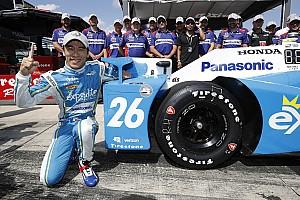 IndyCar Репортаж з кваліфікації IndyCar на Поконо: Сато стартуватиме з поулу