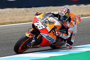 MotoGP Qualifiche Le Honda monopolizzano la prima fila a Jerez con Pedrosa in pole