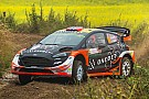 WRC Ostberg parts company with co-driver Floene