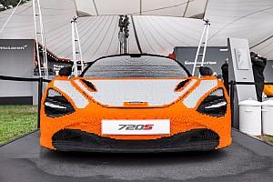 Автомобили Новость В Гудвуд привезли спорткар McLaren из Lego