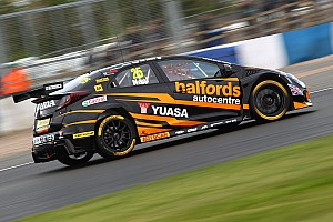 BTCC Qualifying report Thruxton BTCC: Neal takes pole as Honda dominates