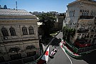 Azerbaijan GP: Starting grid in pictures