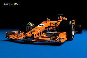 Formel 1 Feature Designstudie: Der McLaren-Renault für die Formel 1 2018