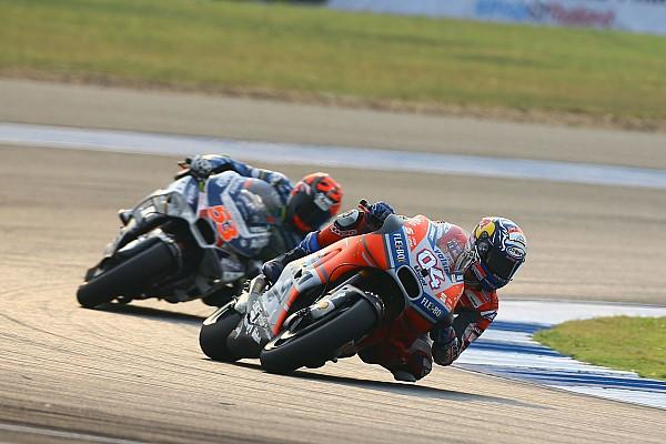 MotoGP 速報ニュース 改良型GP18に好感触。ドヴィツィオーゾ「昨年型と比較の必要なし」