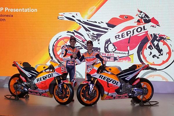 Honda представила байк MotoGP 2018 року