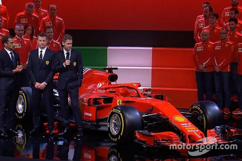 Ferrari resmi pamerkan penantang titel F1 2018, SF71H